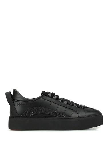 Dsquared2 Dsquared2  Kadın Deri Sneaker 101620386 Siyah